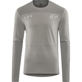 Fox Defend Delta LS Jersey Men grey vintage